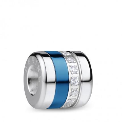 Bering Charm Edelstahl Zirkonia Keramik Blau BestFriend-3