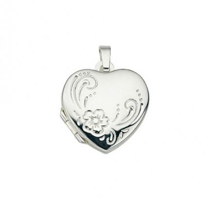 CEM Anhänger Medaillon Silber Herz BME 901109