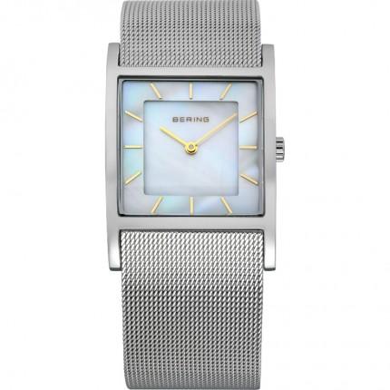 Bering Damenuhr Classic Silber Perlmutt 10426-010-S