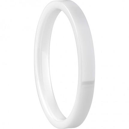 Bering Innenring Ceramic Schmal Weiß 554-50-X1