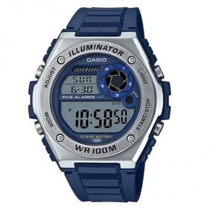 Casio Armbanduhr Collection Blau MWD-1000H-2AVEF