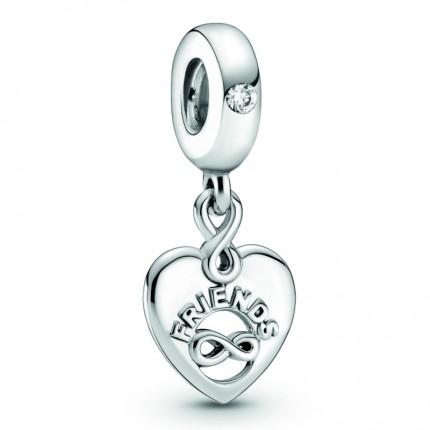 PANDORA Silberelement Friends Forever Heart 799294C01