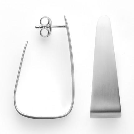 Bastian Inverun Creolen 925/- Silber Rhodiniert 39051