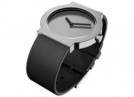 ROSENDAHL Armbanduhr I Small Edelstahl Lederband Schwarz 43275