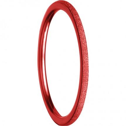 Bering Innenring Ultraschmal Edelstahl Rot Sparkling 561-49-X0