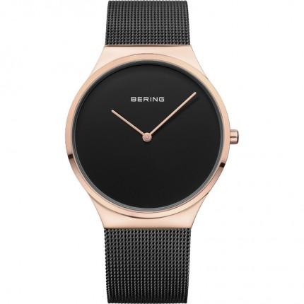 Bering Armbanduhr Unisex Classic Edelstahl Roségold 12138-166