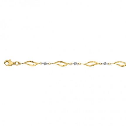 CEM Armband 333/-Gold Bicolor BAB306603