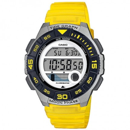 Casio Armbanduhr Collection Gelb LWS-1100H-9AVEF