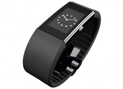 ROSENDAHL Armbanduhr Watch II Large Simili Edelstahl Polyurethan Schwarz 43184