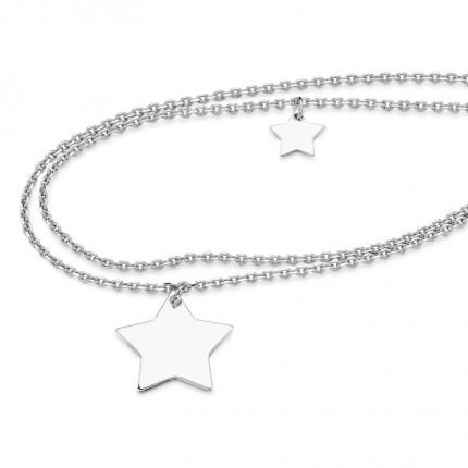 CEM Armband Silber Sterne S-00532B