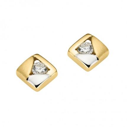 CEM Ohrschmuck 333/- Gold Zirkonia BOS305300