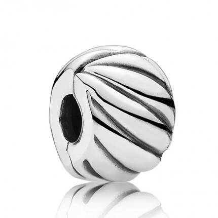PANDORA Silber-Clipselement Gefiedert 791752