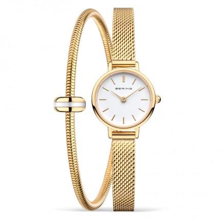 Bering Set Armbanduhr und Armband mit Charm 11022-334-Lovely-1-GWP190