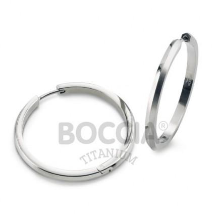 Boccia Ohrschmuck Creole Titan 0571-01