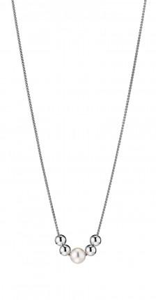 ADRIANA Y-Collier Silber Rhodiniert Süßwasserperlen R91