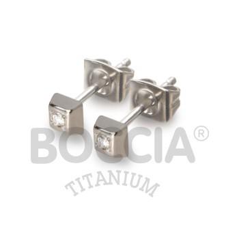 Boccia Ohrstecker Titan Brillanten 0538-01