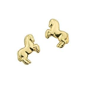 CEM Ohrschmuck 333/- Gold Pferd BOS302308