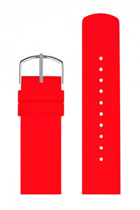 PICTO Wechselband Silikon Rot 20mm 0320S