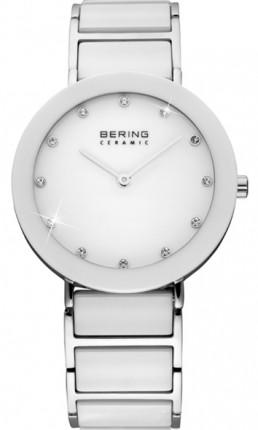 Bering Damenuhr Ceramic Weiß 11435-754