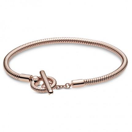 PANDORA ROSE Armband T-Bar Snake Chain 58908700