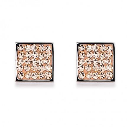 COEUR DE LION Ohrschmuck Kristalle Pavé Peach 0117/21-0225