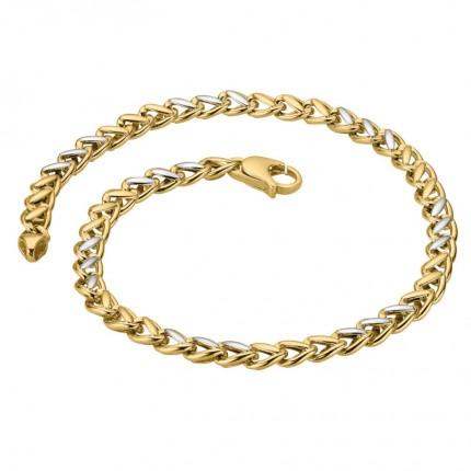 CEM Armband 333/- Gold Bicolor G3-00318B