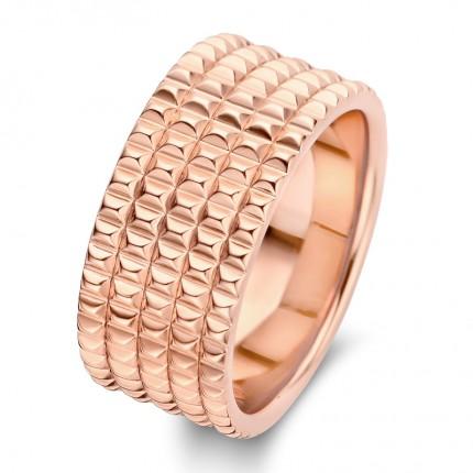 SPIRIT ICONS Ring Peak Silber Rosévergoldet 51234