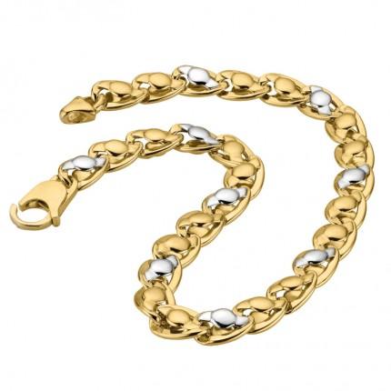 CEM Armband 333/- Gold Bicolor G3-00315B