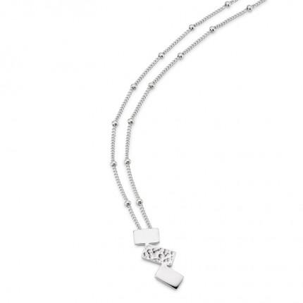 CEM Collier Silber S-00617C