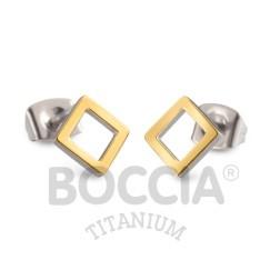 Boccia Ohrschmuck Titan Gold 05022-02