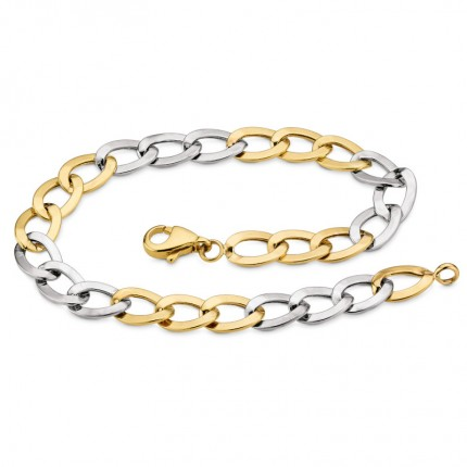 CEM Armband 333/- Gold Bicolor G3-00053B