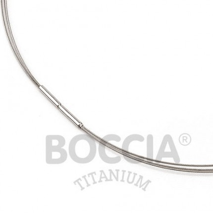 Boccia Collier Titan Edelstahl 3-fach 0804-01