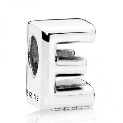 PANDORA Silberelement Letter E 797459