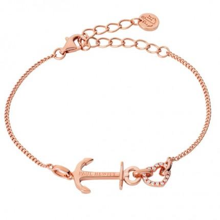 Paul Hewitt ANCHOR LOVE Armband Silber Roségold PH003116