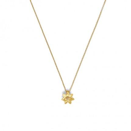 BERND WOLF Collier HORTENSIA Silber Goldplattierung Zirkonia 87614156-41-45