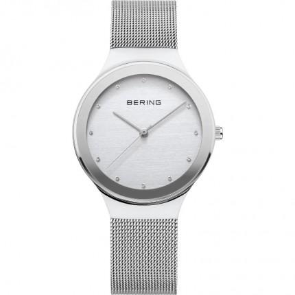 Bering Damenuhr Classic Silber 12934-000