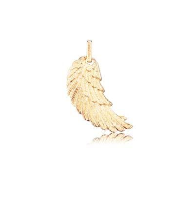Engelsrufer Flügel Silber Gold Plated Klein ERW-SG