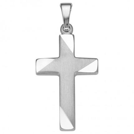 CEM Anhänger Kreuz Silber BAH905052