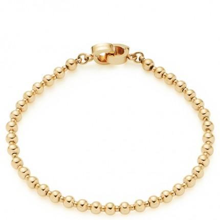 Leonardo Armband Clip & Mix Nohra Gold 018461