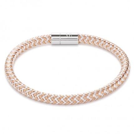 COEUR DE LION Armband Metall Geflochten Roségold Silber 0116/31-1631