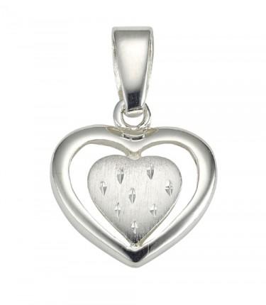 CEM Anhänger Herz Silber BAH 904738