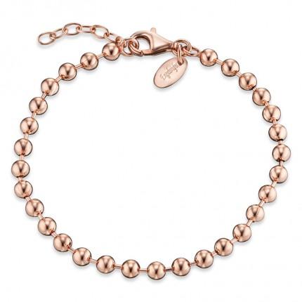 Engelsrufer Armband Kugel Silber rosévergoldet ERBK-20-4R