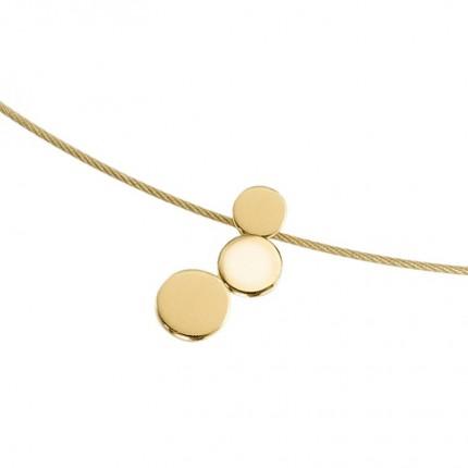 Boccia Anhänger Titan Gold 07025-02