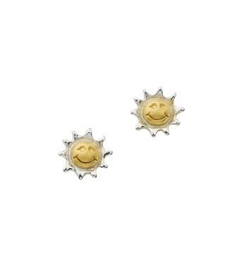 CEM Ohrschmuck Silber Sonne BOS 901470