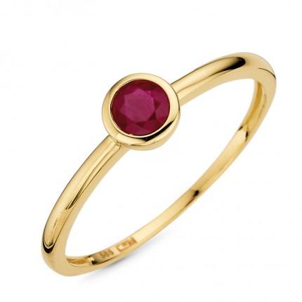 CEM Ring 585/- Gold Rubin G5-00144R
