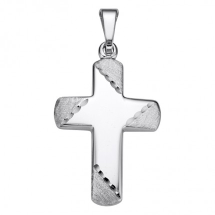 CEM Anhänger Kreuz Silber BAH905062