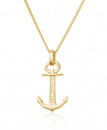 Paul Hewitt ANCHOR SPIRIT Halskette Silber Gold PH-AN-G