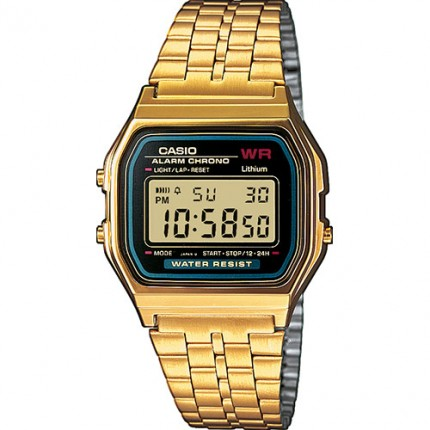 Casio Armbanduhr Vintage Iconic Collection Gold A159WGEA-1EF