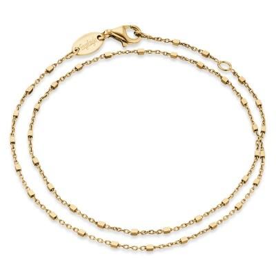 Engelsrufer Armband Silber Gold plated Würfel ERB-LILCUBE-G