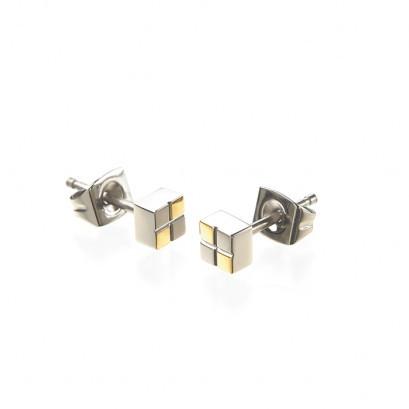 Boccia Ohrschmuck Titan Gold 0518-03